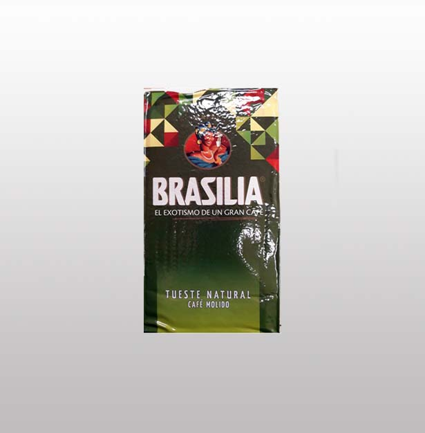 Brasilia - Cafe Molido Tueste Natural 500 gr